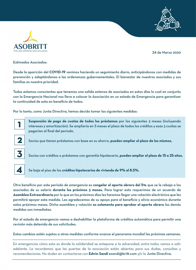 asobritt-Comunicado Coronavirus